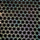 Iridescent Light Blue Flower Extra Wide Sequin Waste (Punchinella) x 2 metre. LAST FEW